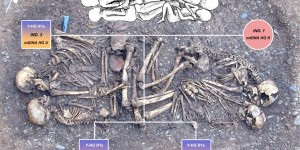 Figure 1: the parent-child burial at Eulau, Germany