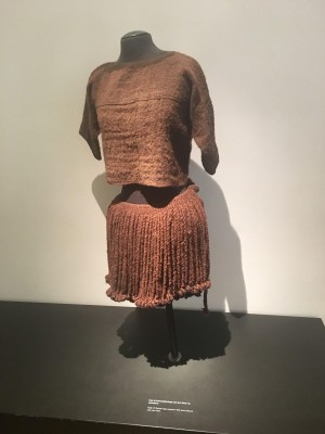 Figure 6: The Egtved Girl's clothes (reconstruction), National Museum of Denmark