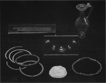 Figure 2: The grave goods of Sycamore Terrace (Cool 2006, 155).