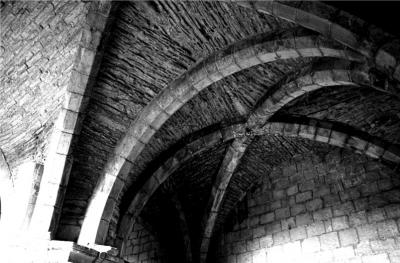 Figure 4. Vaulted ceiling in the basement