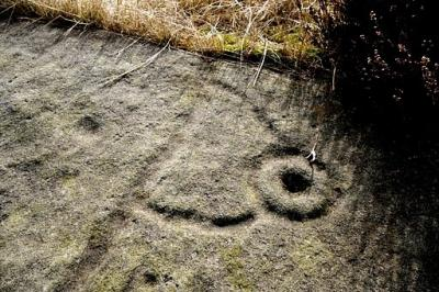 Figure 1. Rock Art - A Form of Communication that should be dismissed as text often is? (Photo credit: Trustram Eve, 2009)