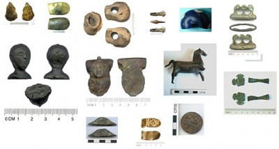 Figure 1: Selection of finds brought to me and my FLO predecessors in Northamptonshire (Reproduced with kind permission of the Portable Antiquities Scheme)