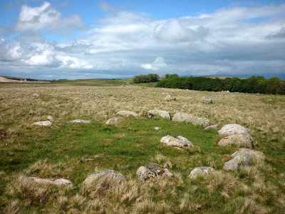 Figure 3: Neolithic cairn circle, Oddendale, Cumbria (Image Copyright: Karl and Ali – geograph.org.uk)