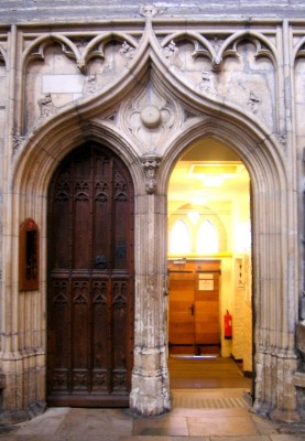North Choir Aisle Door (credit: author)