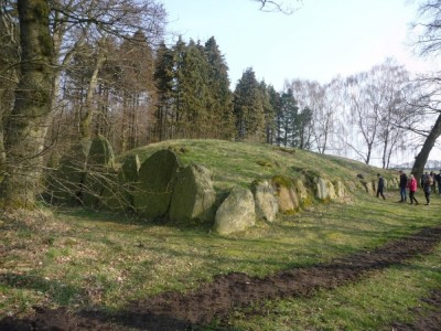 Figure 4. Voldstedlund neolithic long barrow (Image copyright: J. Grant).