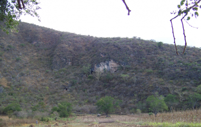 Figure 1. Oxtotitlán Cave, Guerrero, Mexico (Image copyright: Arnaud F. Lambert).