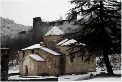 Forty Martyrs Church (6th century AD), winter 2008 (photograph by Varnika Kenia)