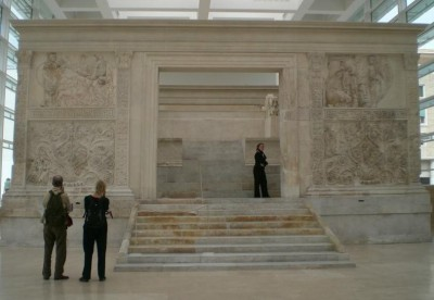 Figure 5: The Ara Pacis (credit: author)