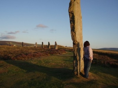Figure 1: Ring of Brodgar at sunset (credit: author)