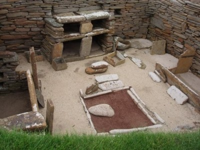 Figure 2: The Neolithic settlement of Skara Brae (credit: author)